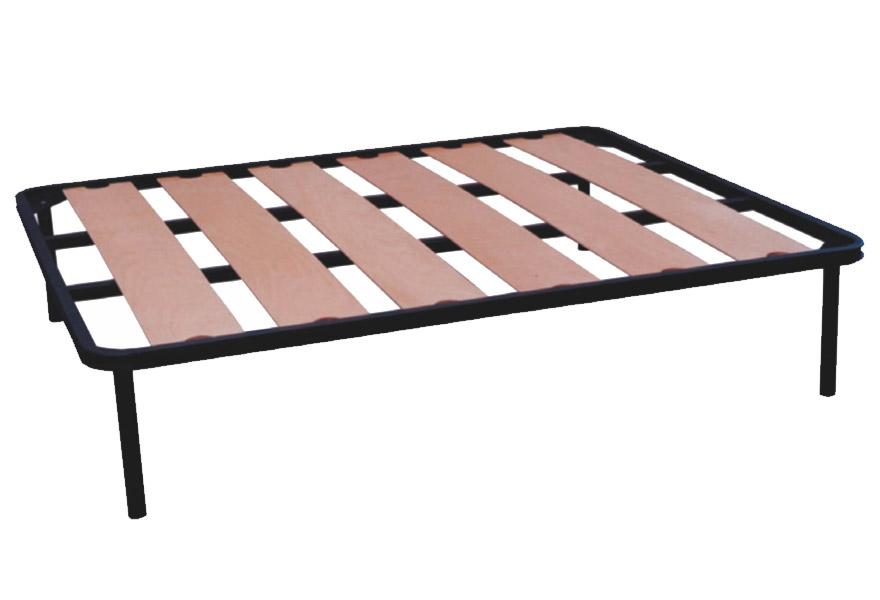 Rete letto con doghe in faggio. Creta è realizzata con attenzione ai minimi dettagli. Il comfort è garantito dalle 7 doghe in faggio a larghezza maggiorata.