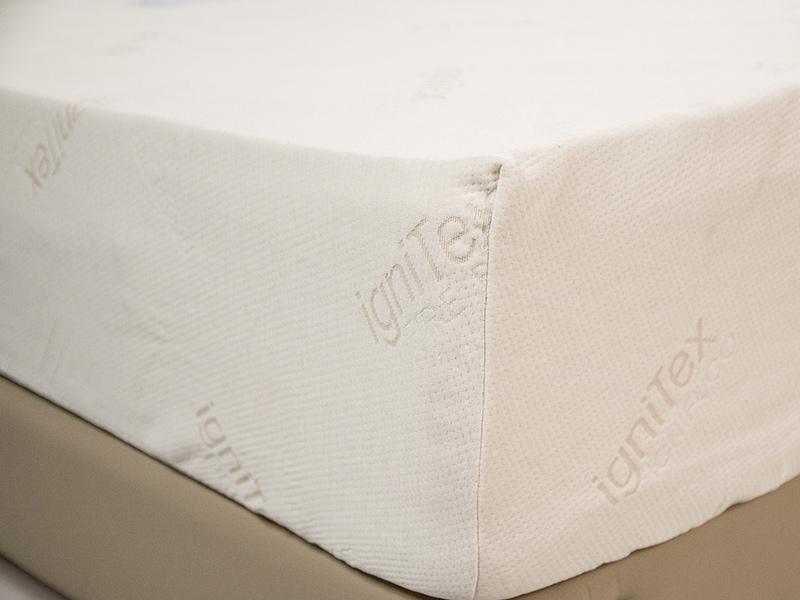 Coprimaterasso elastico in misto poliestere e modacrilico. Disponibile in tutte le misure, standard per per materassi di altezza massima 23 cm.