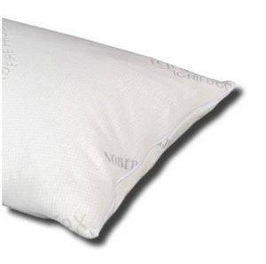 Pratica federa in cotone copriguanciale con esclusivo trattamento NoBedBugs contro le cimici da letto. Lavabile e traspirante.
